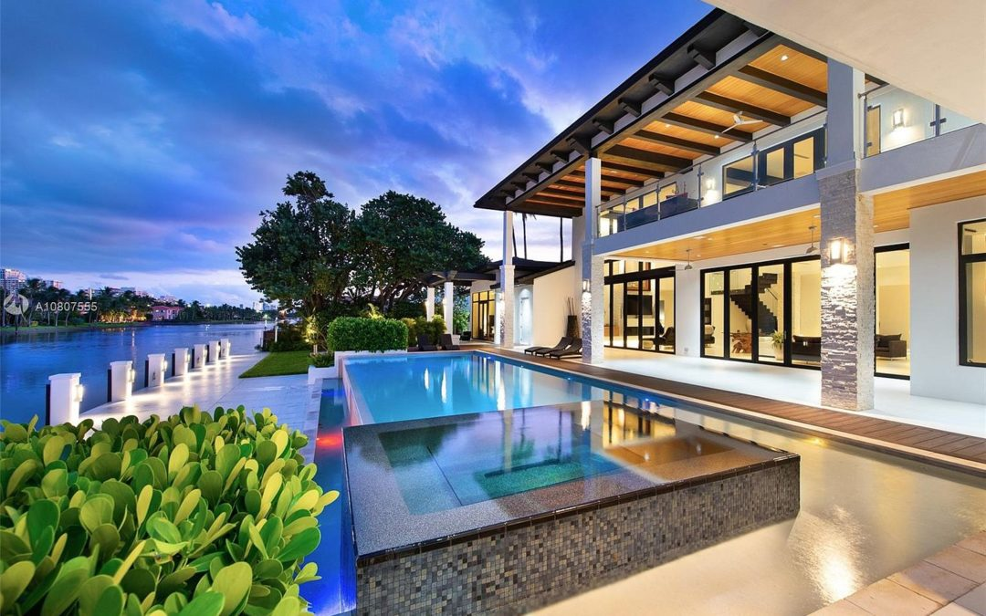 Home of The Day: An Astonishing Waterfront Estate in Hollywood, Florida