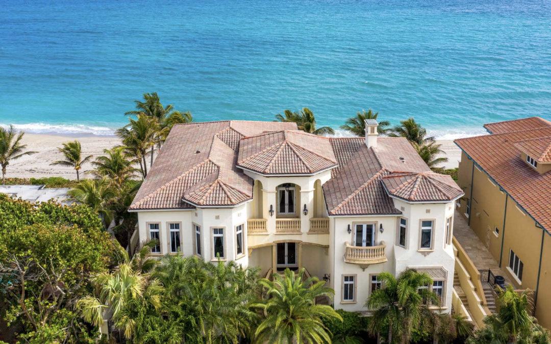 Extraordinary Highland Beach Oceanfront Estate Sells For $9.85 Million