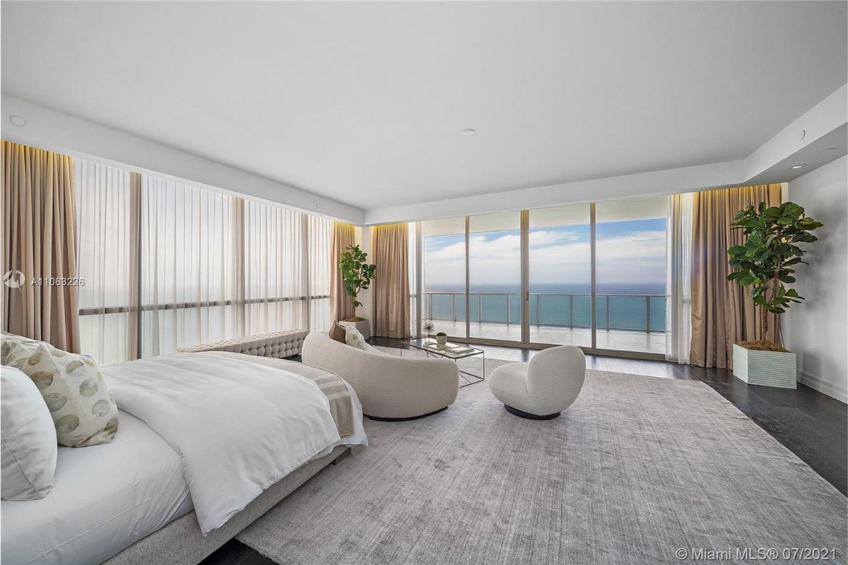 Today's featured Home Of The Day is an ultra-luxury full-floor sky residence at the exclusive and private Mansions at Aqualina in Sunny Isles, Florida.