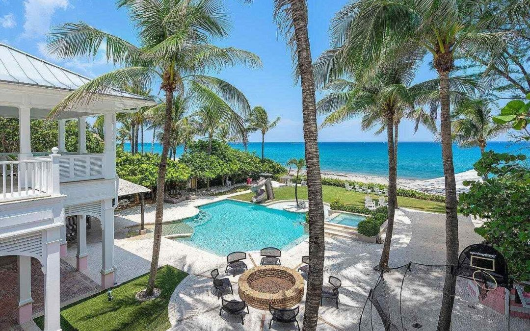 Home Of The Day: An Ultra-Luxury Oceanfront Estate In Coveted Ocean Ridge