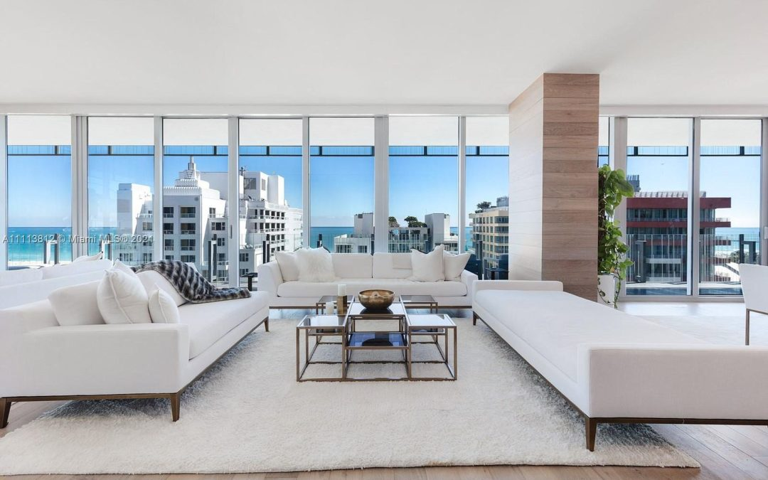 Home Of The Day: Miami Beach Sky Residence With Stunning 360° Views